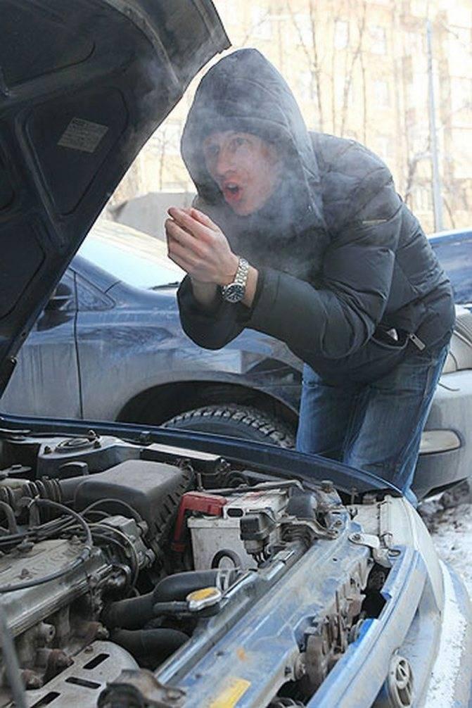 4 причины, из-за которых автомобиль хуже разгоняется зимой