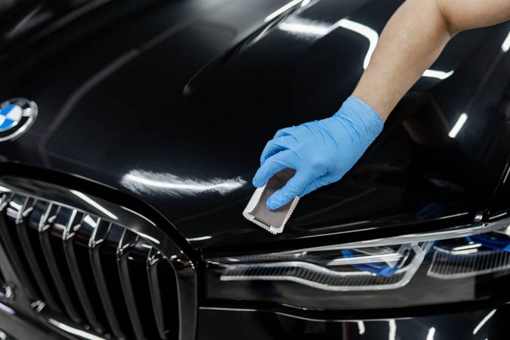 Как покрыть автомобиль керамикой своими руками