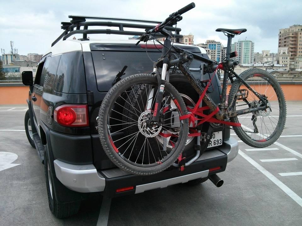 Как перевозить велосипед на машине? - всё о велоспорте