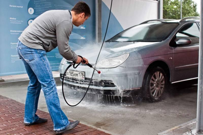 Советы по правильному использованию мойки самообслуживания при мытье автомобиля
