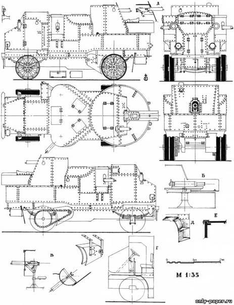 Ба-64 / книга: бронеавтомобили красной армии 1918-1945 / библиотека / главная / арсенал-инфо.рф