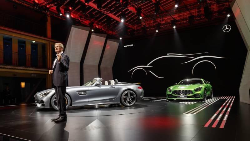 """Mercedes-amg рассказал о будущих """"заряженных"""" моделях e performance"""