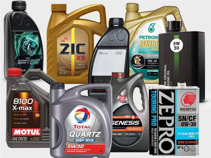 Лучшие моторные масла для автомобилей в 2021 году