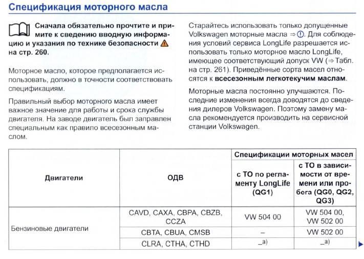 Классификация моторных масел sae