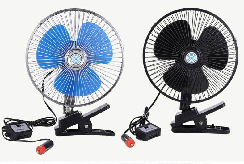 Вентилятор автомобильный на 12/24 вольт, как выбрать c функцией обогрева и без