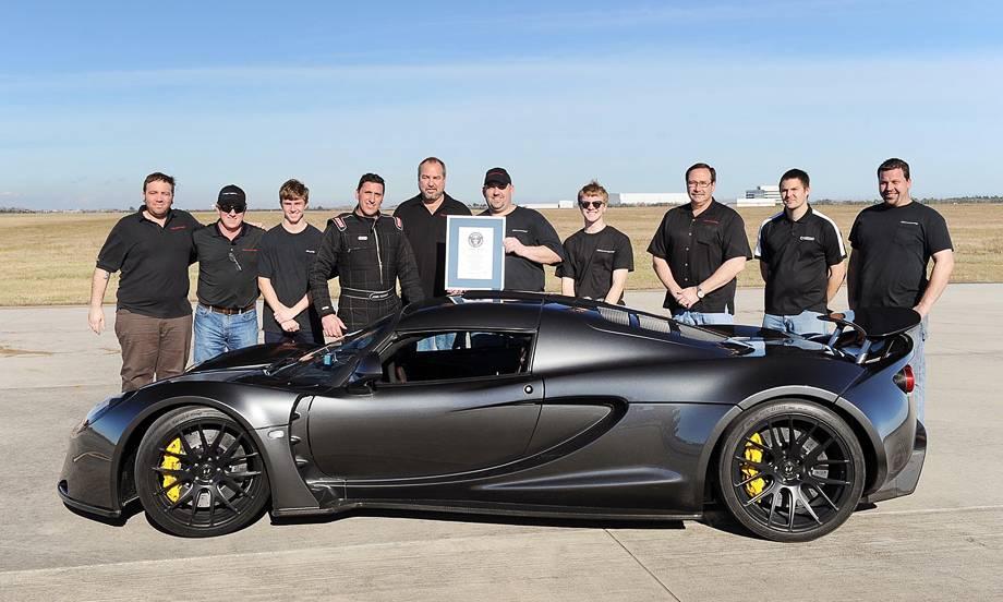 10 самых быстрых машин в мире на 2020 год