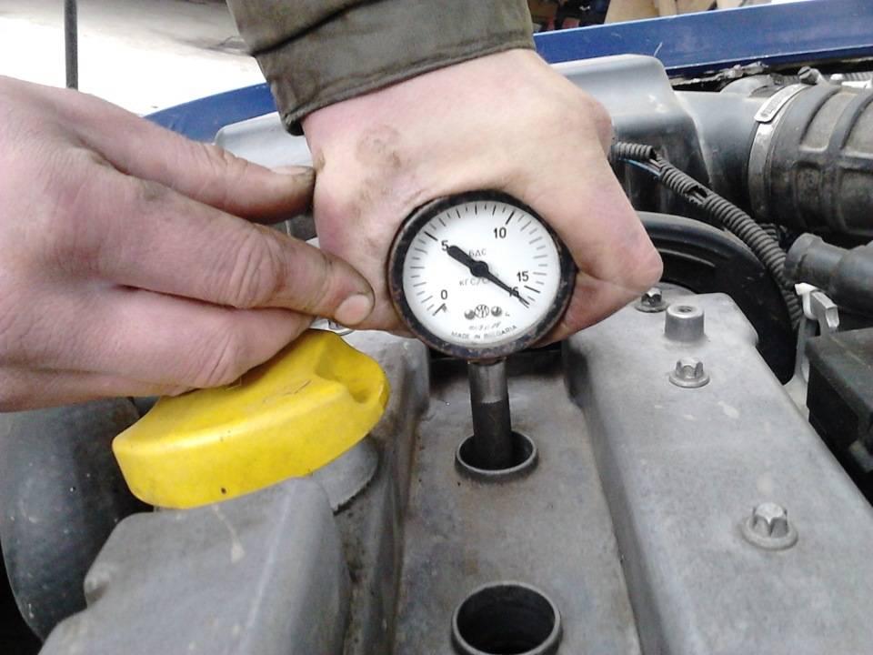Как измерить компрессию двигателя и какой она должна быть