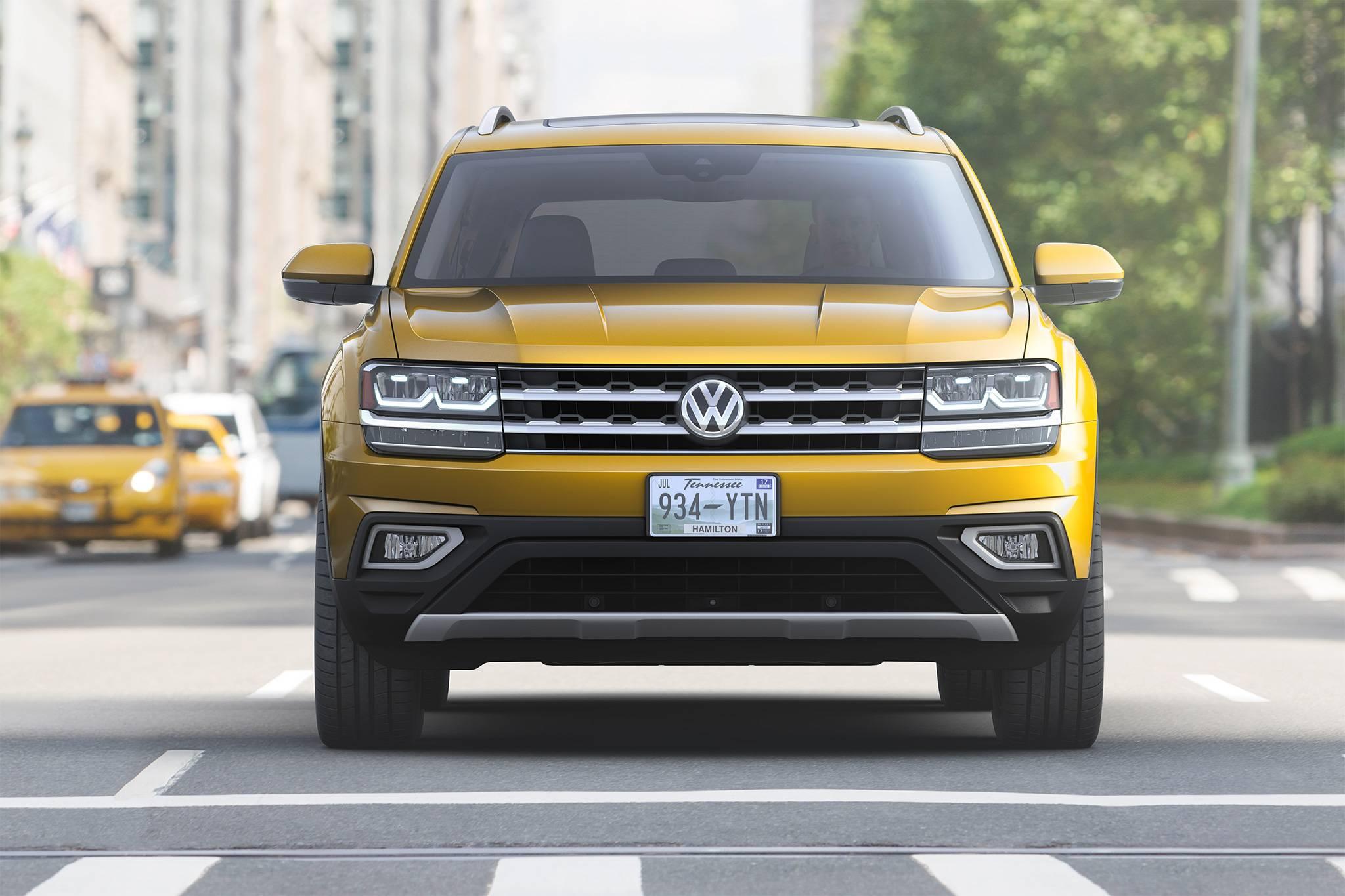 Volkswagen показал новую версию внедорожника Teramont