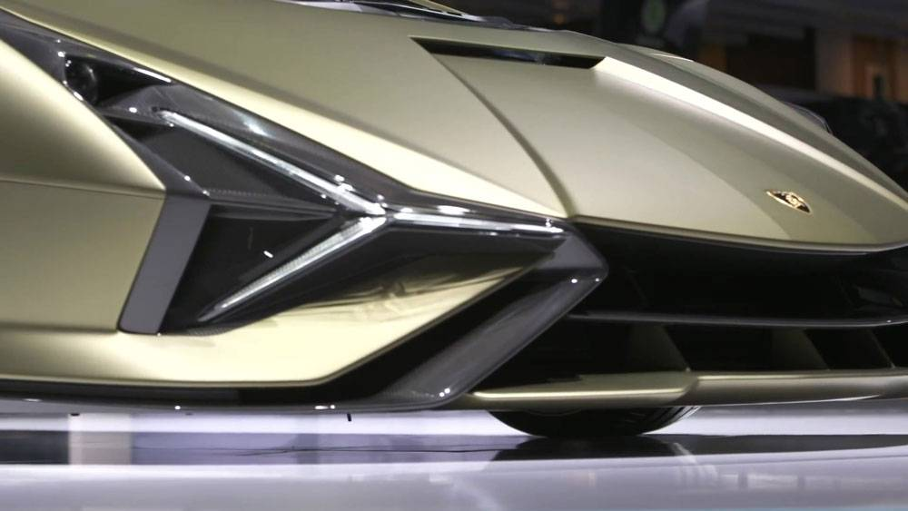 Lamborghini sián fkp37 – первый гибридный гиперкар ламбы