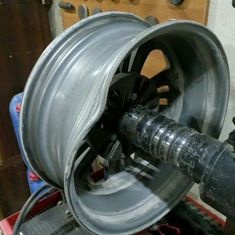 Ремонт колесных дисков, стоит ли овчинка выделки