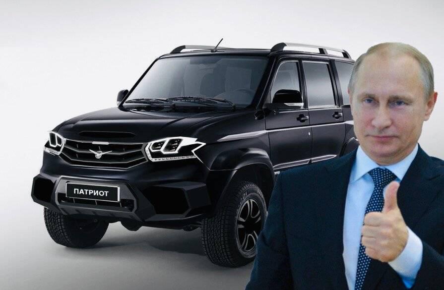 Названа примерная стоимость нового «УАЗа Патриота»