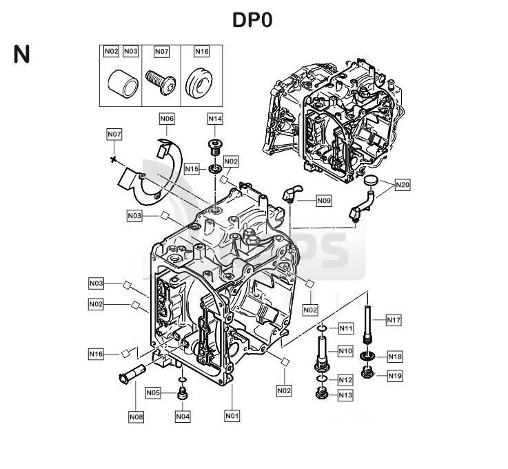 Ремонт акпп dp0 своими руками: гидроблок и ремкомплект al4