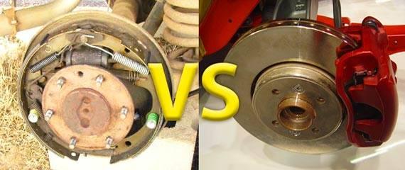 Как делается замена барабанных тормозов на дисковые
