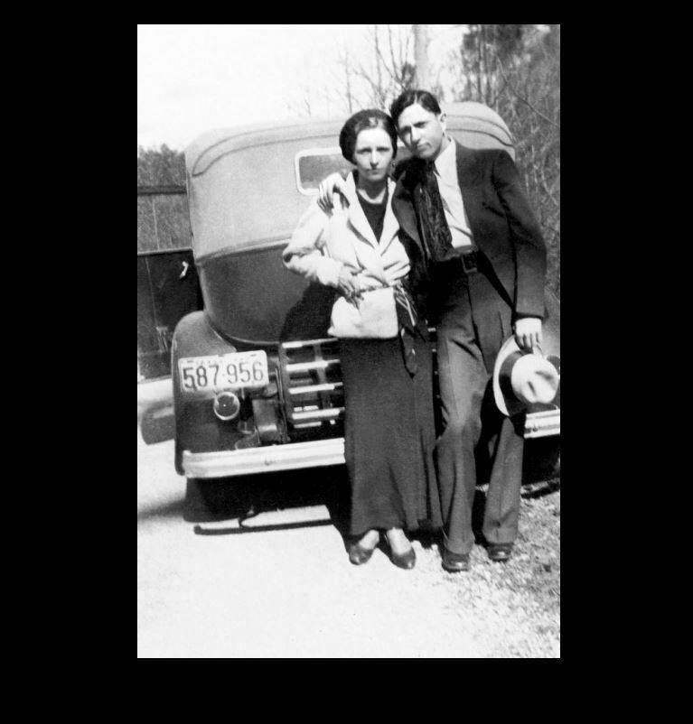 Убойные любовники: отмороженные убийцы преступного мира — бонни и клайд