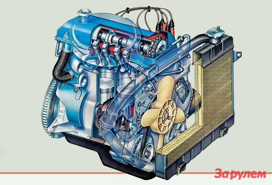 Какие двигатели ставят на классику жигули