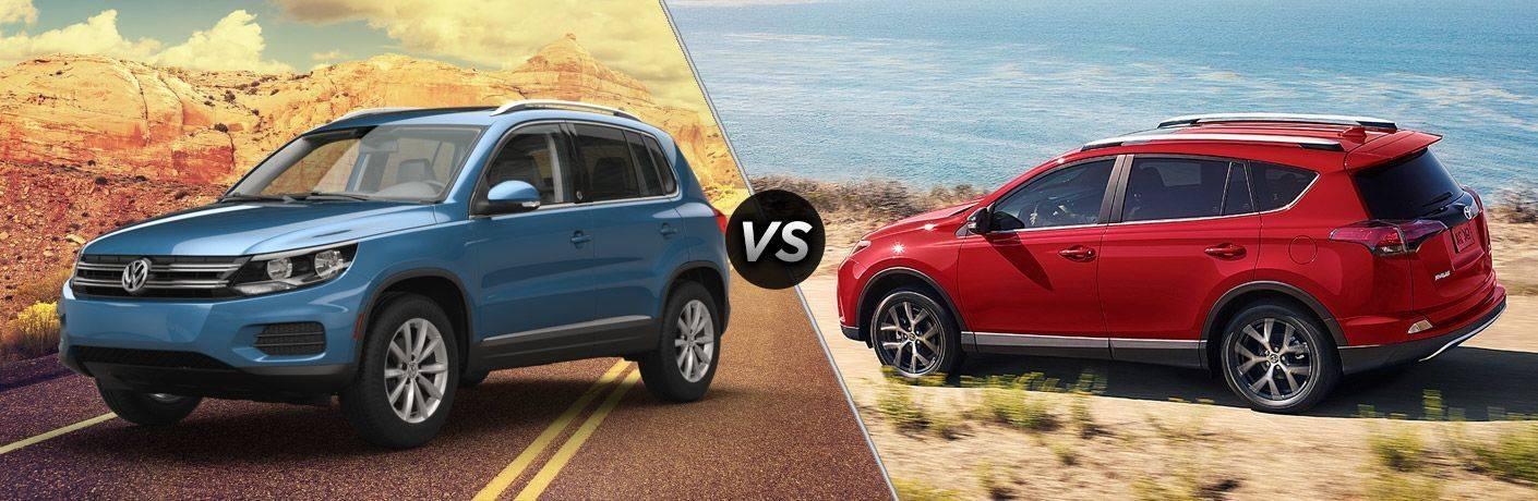 Volkswagen Tiguan против Toyota RAV4: какой кроссовер лучше