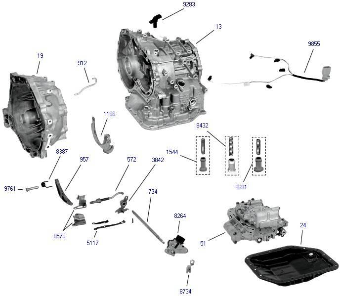 Признаки неисправности акпп  симптомы поломки автоматической коробки передач