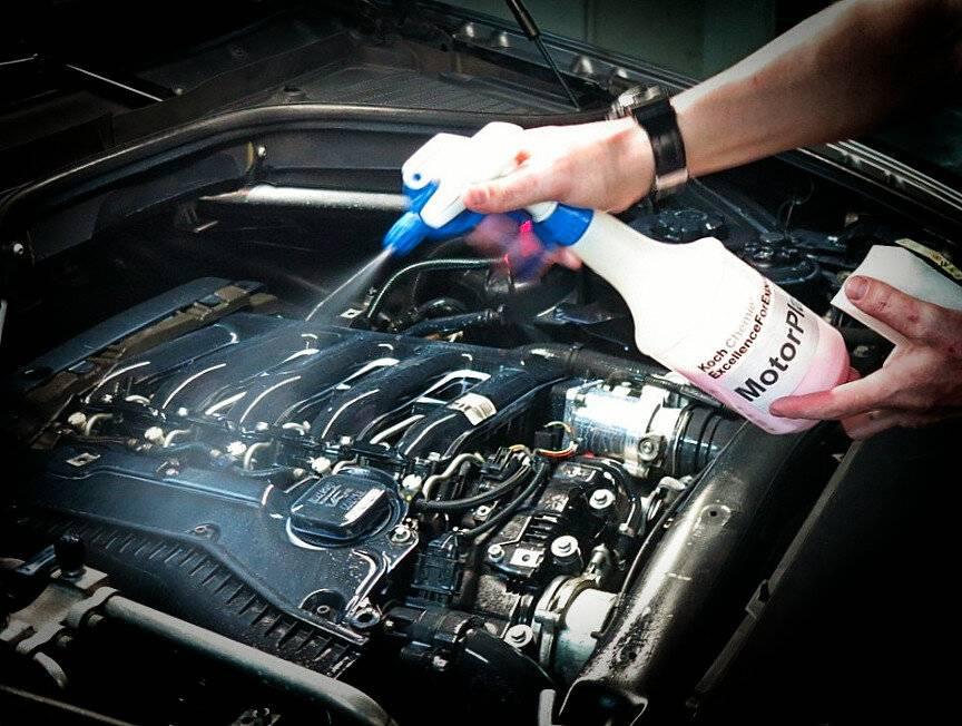 Мойка двигателя автомобиля самостоятельно от масла и грязи в домашних условиях – как правильно?