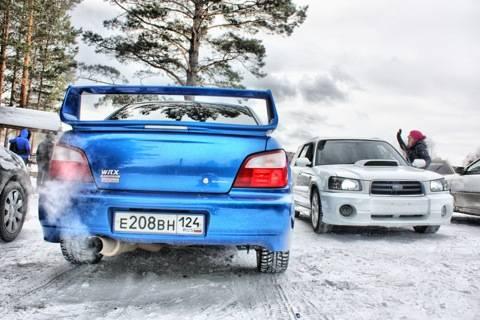 Subaru impreza wrx sti – спортсмен с характером