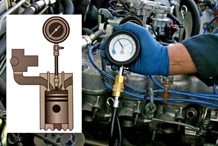 Способы проверки компрессии, причины низкой компрессии. ремонт мотора или его замена?