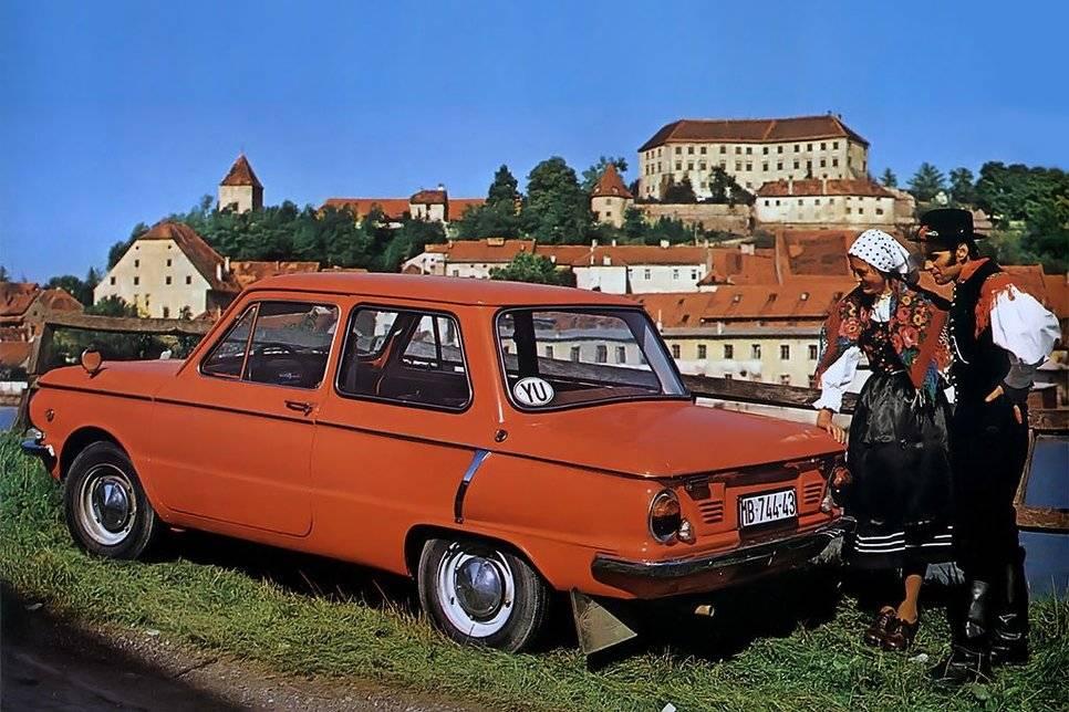 Советские автомобили, которые имели успех на западе   русская семерка