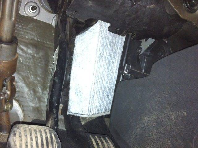 Замена салонного фильтра форд фокус 2