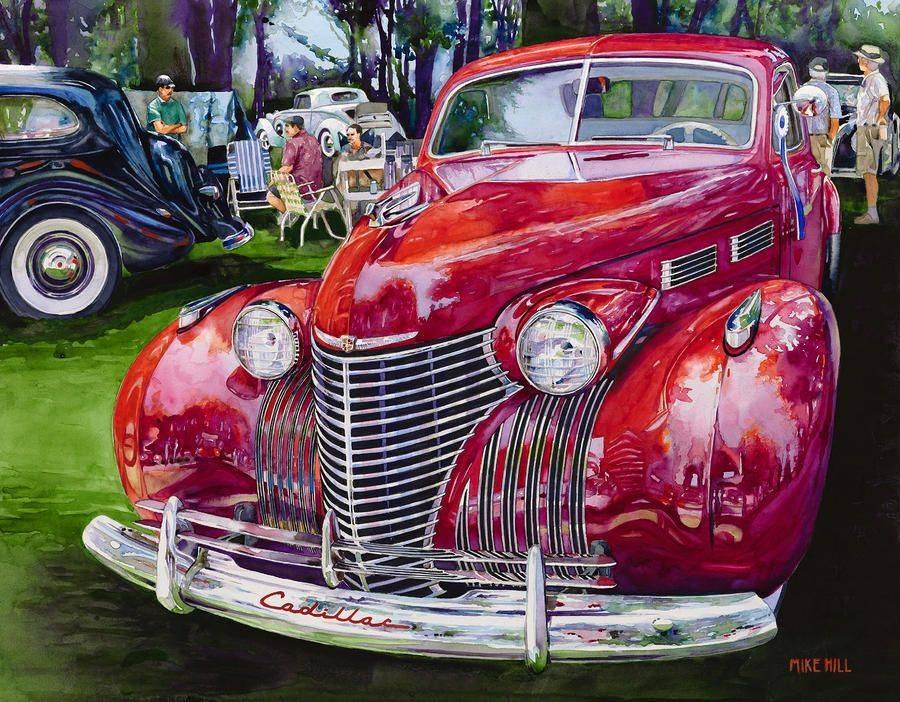 Автомобиль не роскошь, а предмет искусства