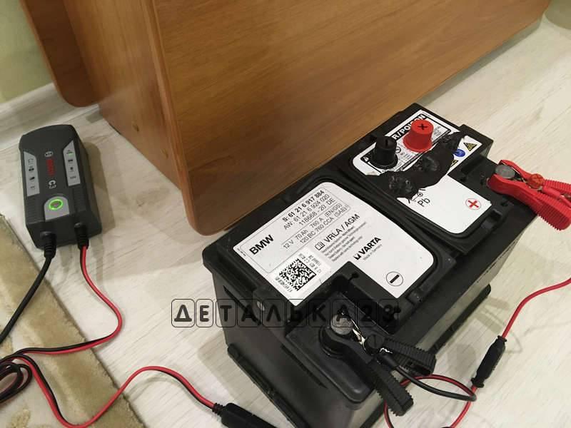 Обновление: как зарядить акб agm автоматическим или простым зарядником