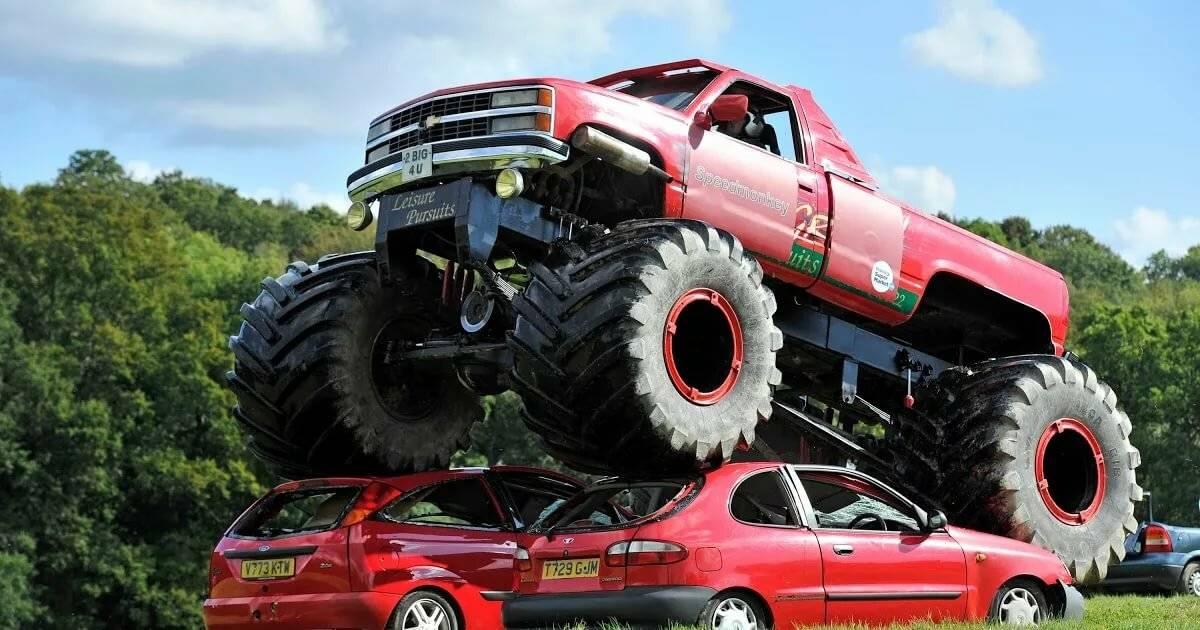 Самый большой бигфут. годзиллы автомобильного мира: как устроены монстр-траки