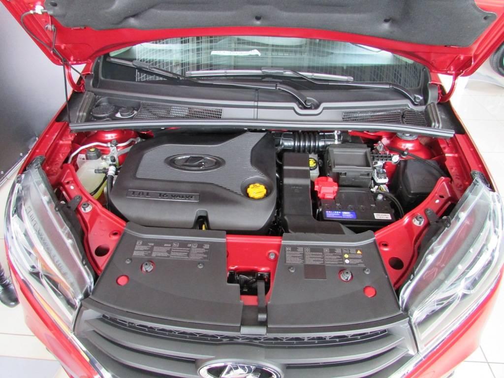 Какой двигатель стоит на лада икс рей