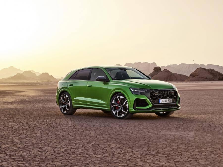 Audi «подогрела» кроссовер q8: 600-сильный мотор и 3,8 секунды до «сотни»