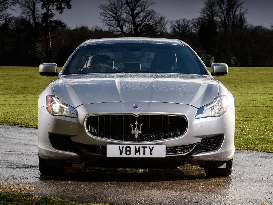 Maserati quattroporte 2021 года (мазерати кватропорте)
