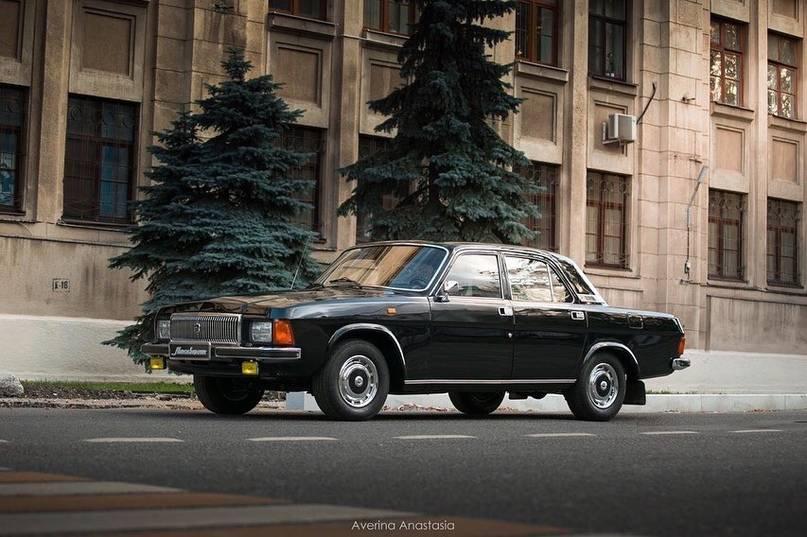 """1993 газ 31013 5.5 at / 195 л.с. - """"догонялка"""" кгб/гон, мотор v8 с акпп"""