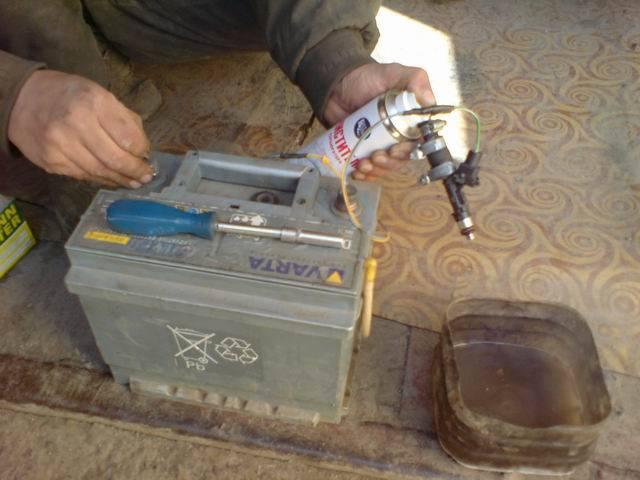 Промывка инжектора и форсунок без снятия с двигателя