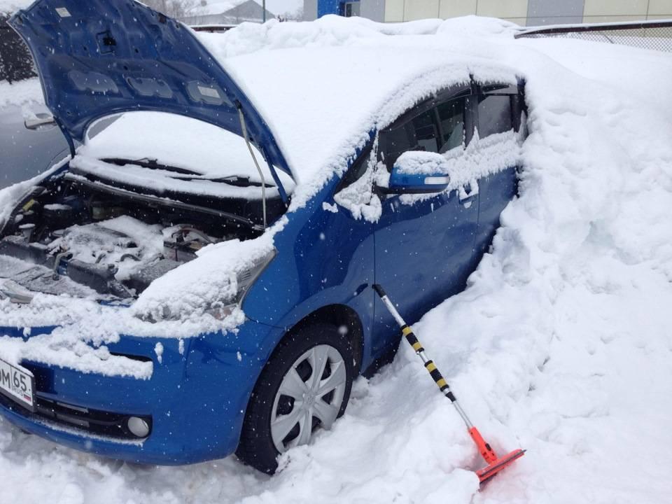 Как завести автомобиль в мороз своими силами