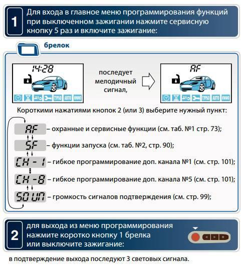 Рейтинг лучших сигнализаций с автозапуском и без 2018-2019 года