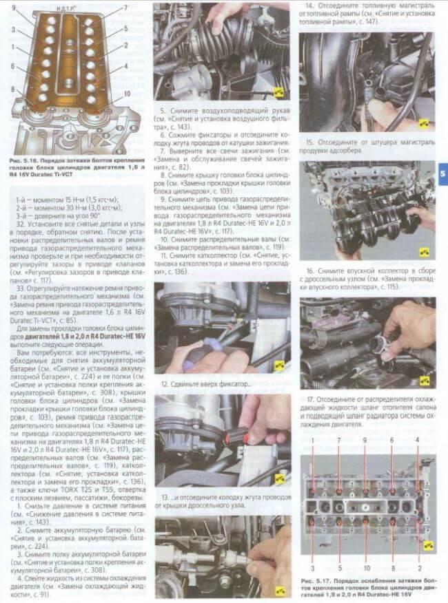Замена масла и масляного фильтра ford focus 2 в картинках