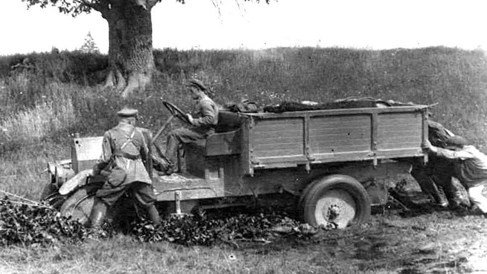 Иностранные грузовики на службе в красной армии - альтернативная история