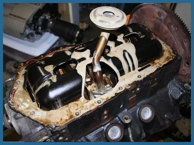 Какое масло меньше всего угорает в двигателе