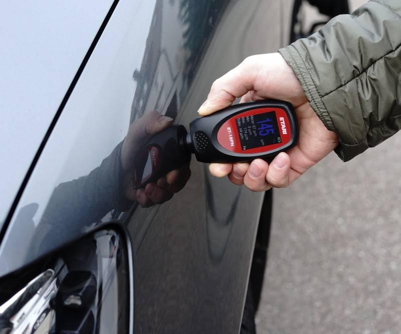 Как пользоваться толщиномером лакокрасочных покрытий автомобилей и какой лучше выбрать