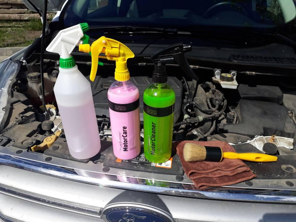 Как безопасно помыть двигатель автомобиля своими руками