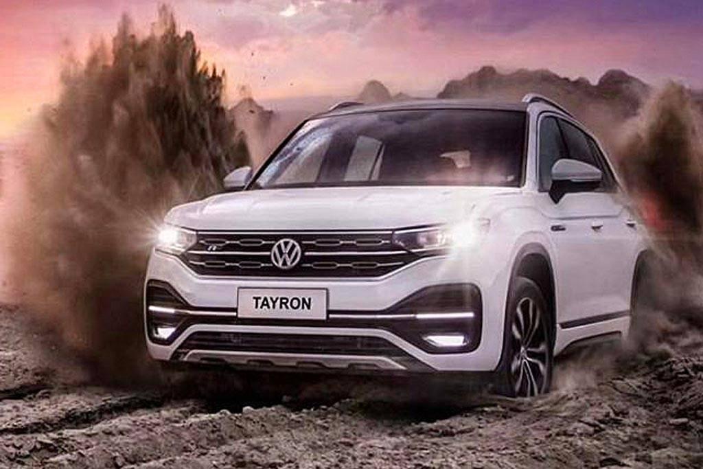 Volkswagen выпустит новый купеобразный кроссовер Tyron X