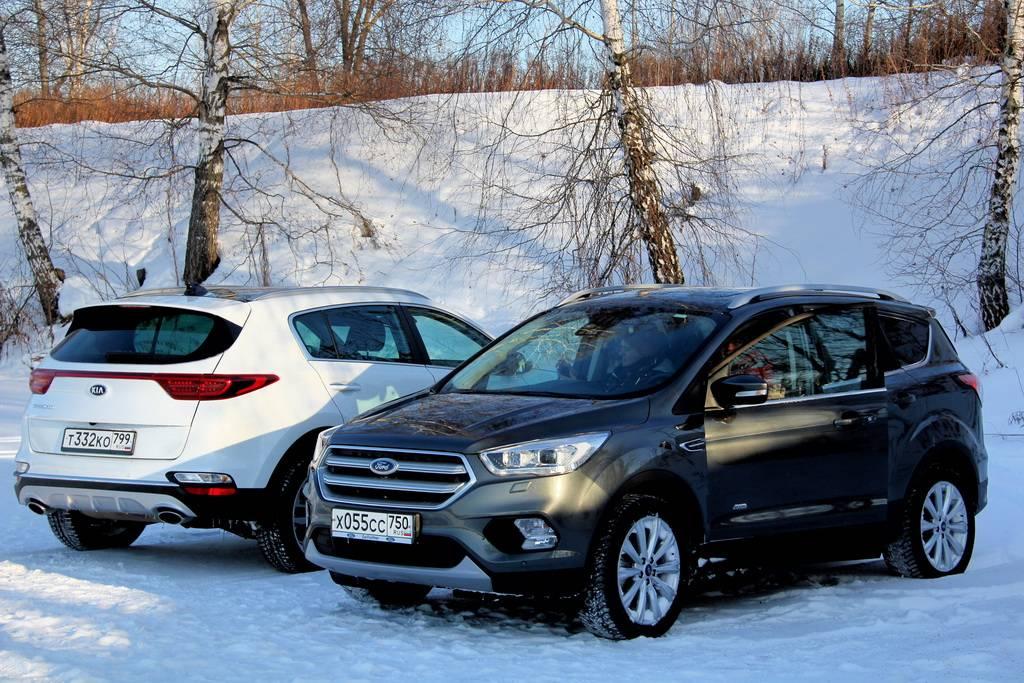 KIA Sportage IV и Hyundai Tucson III: однояйцевые, но не близнецы
