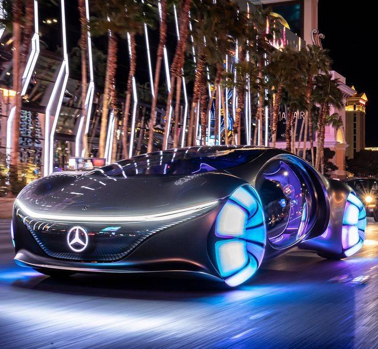 Mercedes-benz vision avtr – шоу-кар в стиле «аватар»