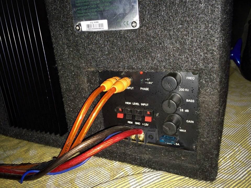 Настройка усилителя под сабвуфер двухканальный