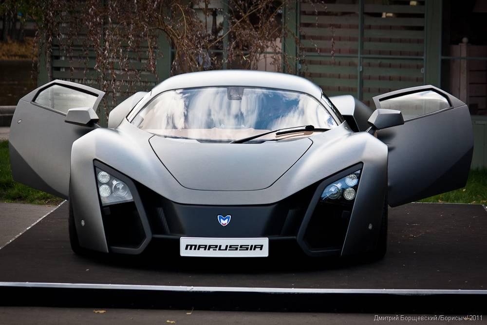 Первый российский спорткар marussia b1