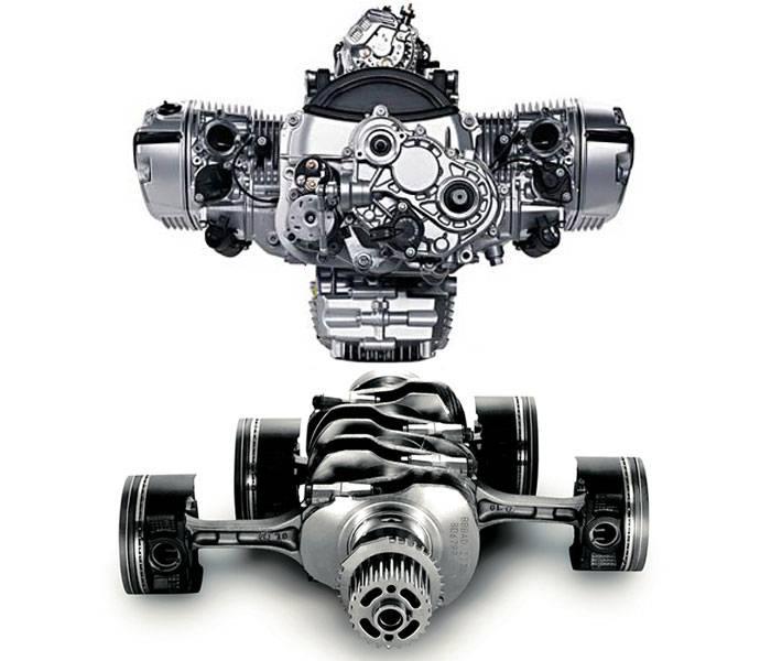 Принцип работы оппозитного двигателя и его плюсы и минусы