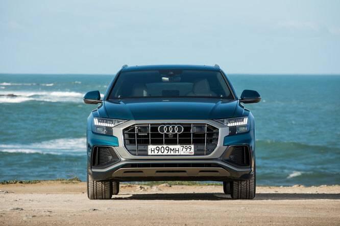 Audi q8 50 tdi — очерк об удобстве