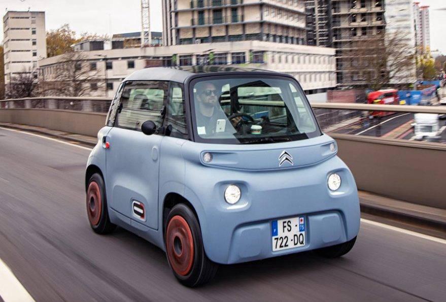 Новый электромобиль ami one concept: фото и технические характеристики