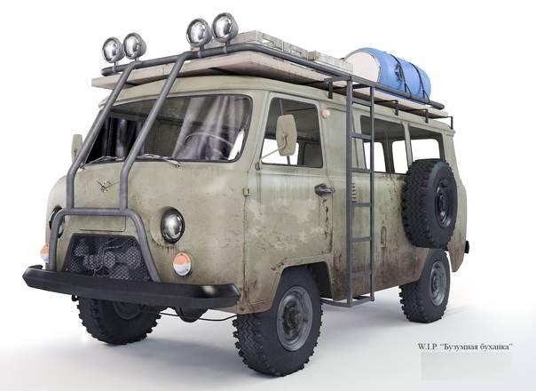 """Уаз-452 """"буханка"""" - кому подойдет и для чего создавался"""
